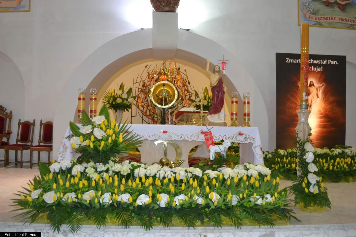 Dekoracje Na Wielkanoc 2018 Parafia Opatrzności Bożej W
